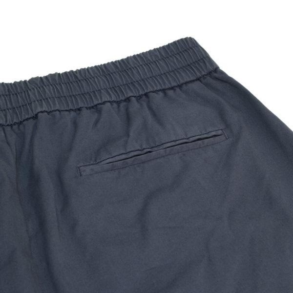 Sunspel Drawstring Shorts Blue Slate