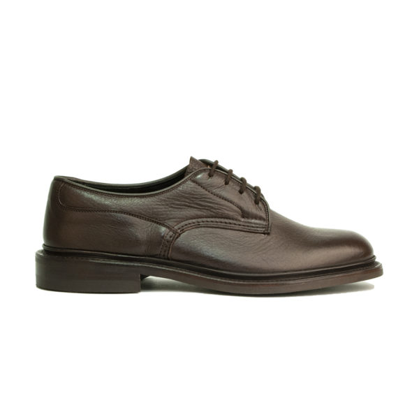 Trickers Woodstock Shoe Dark Brown Olivia Deerskin