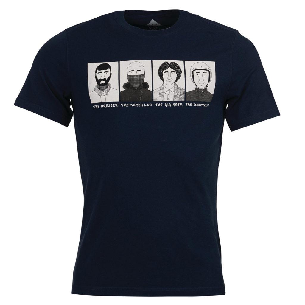 Barbour Josh.P T-Shirt 3 Navy