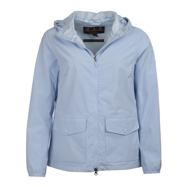Barbour Womens Abrasion Jacket Powder Blue