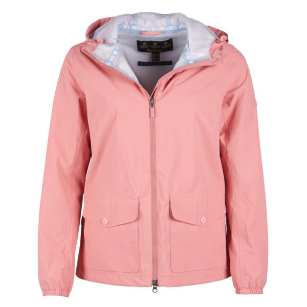Barbour Womens Abrasion Jacket Vintage Rose / Ice