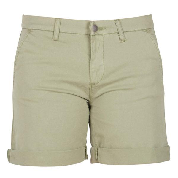 Barbour Womens Essential Shorts Khaki