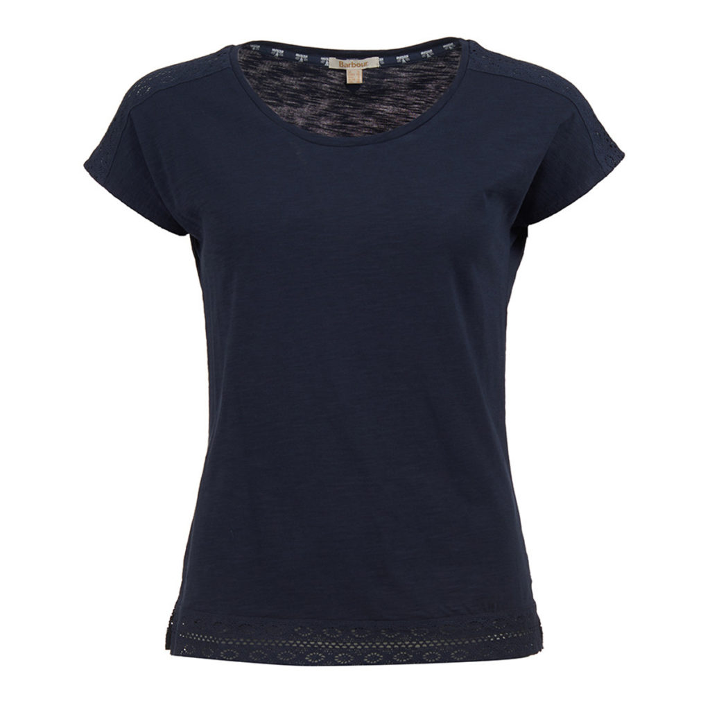 Barbour Womens Seahouse Top Navy