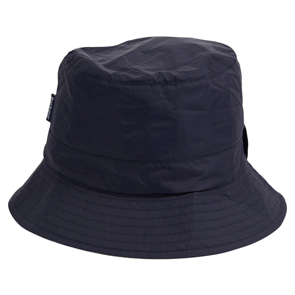 Barbour Womens Waterproof Islay Bucket Hat Navy