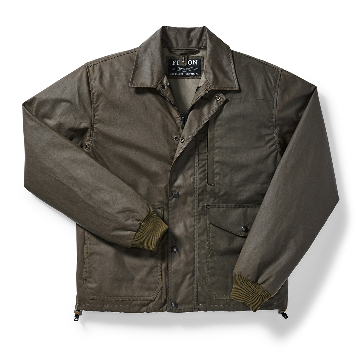 532c0d0832bd4 Filson Aberdeen Work Jacket Otter Green - The Sporting Lodge