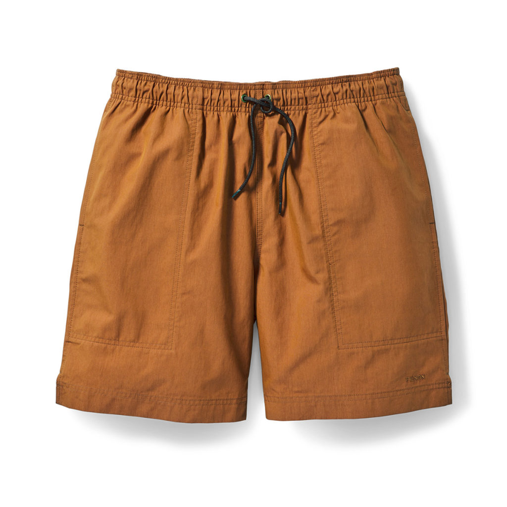 Filson Green River Water Shorts River Rust