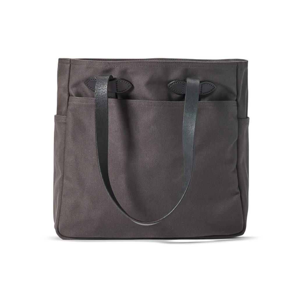 Filson Tote Bag Without Zipper Cinder