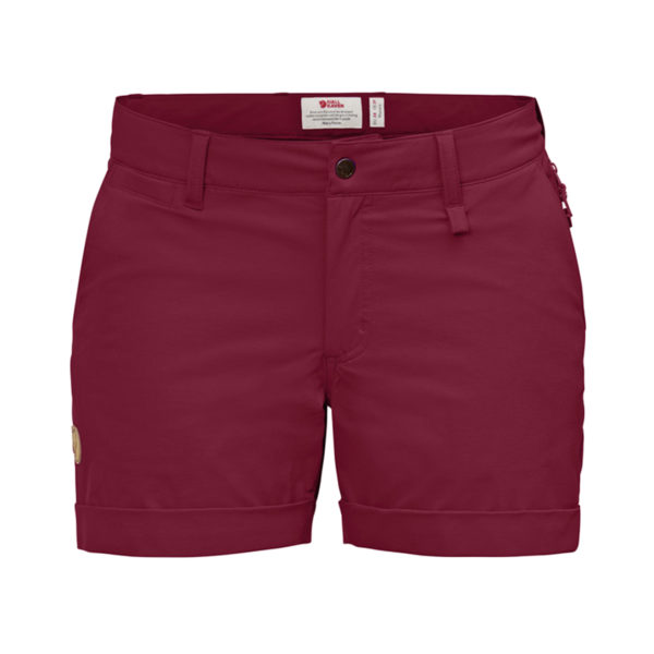 Fjallraven Womens Abisko Stretch Shorts Plum