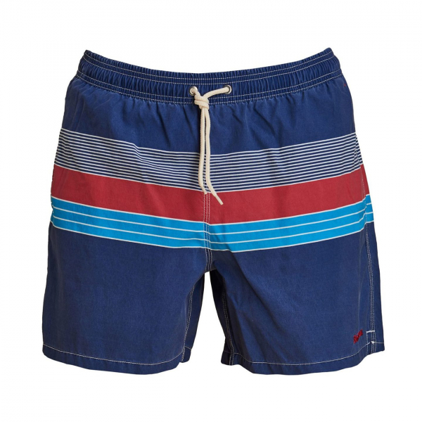Barbour Rydal Swim Shorts Red