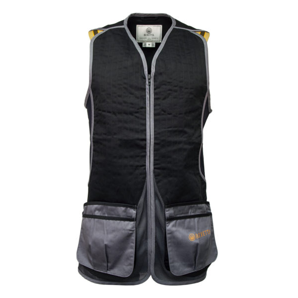 Beretta DT11 Cotton Slide Shooting Vest Black / Grey