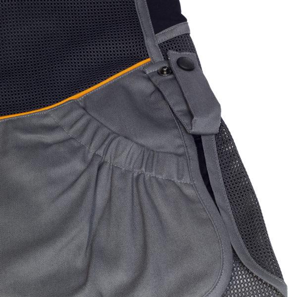 Beretta DT11 Cotton Slide Shooting Vest Black / Grey