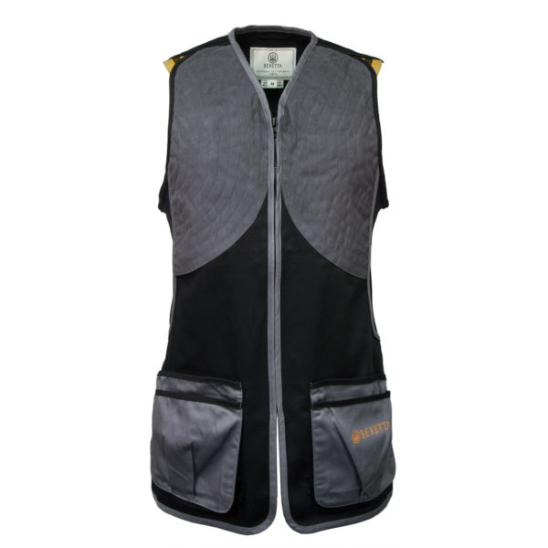 Beretta DT11 Microsuede Slide Shooting Vest Black / Grey