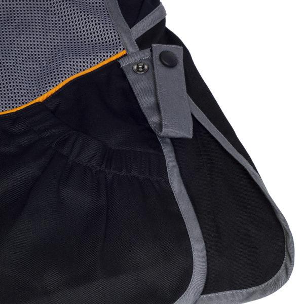 Beretta DT11 Microsuede Slide Shooting Vest Black / Grey