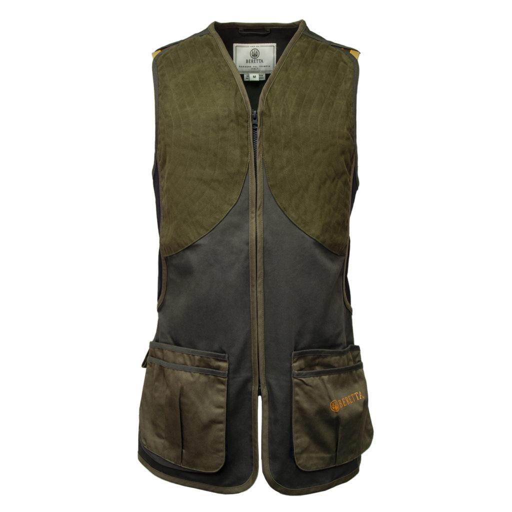 Beretta DT11 Microsuede Slide Shooting Vest Dark Olive