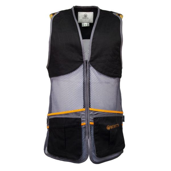 Beretta Full Mesh Shooting Vest Black / Grey