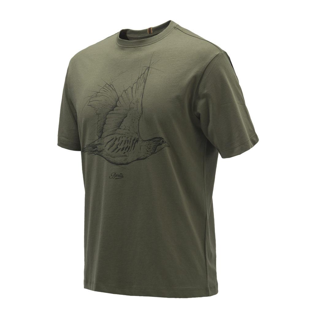 Beretta Partridge T-Shirt Green