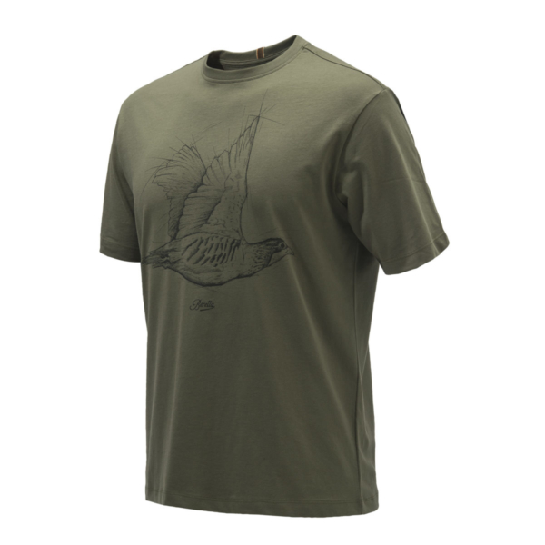 Beretta Partridge T-Shirt Green