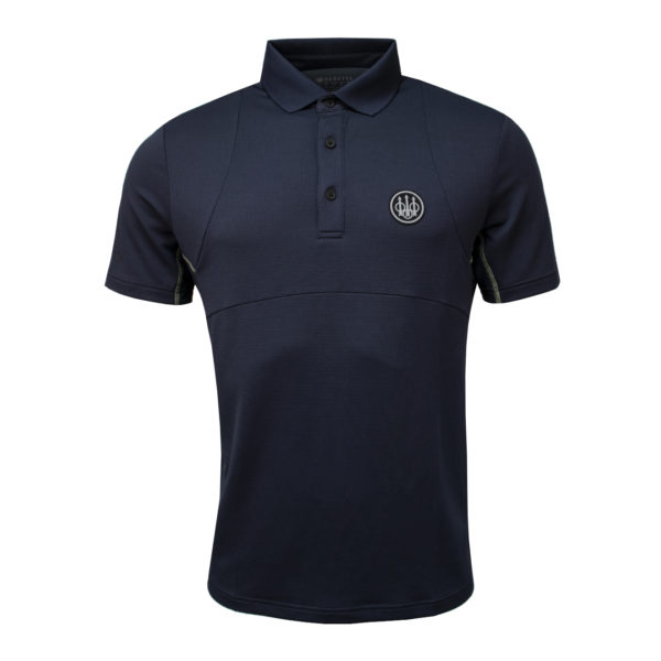 Beretta Tech Hunting Polo Blue Navy