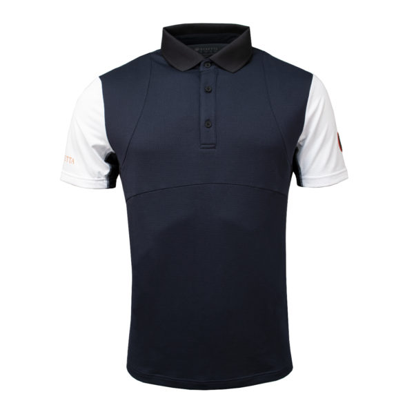 Beretta Tech Shooting Polo Navy