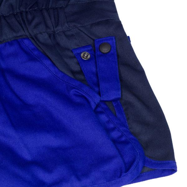 Beretta Trap Cotton Shooting Vest Blue Navy
