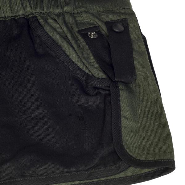Beretta Trap Cotton Shooting Vest Green / Black