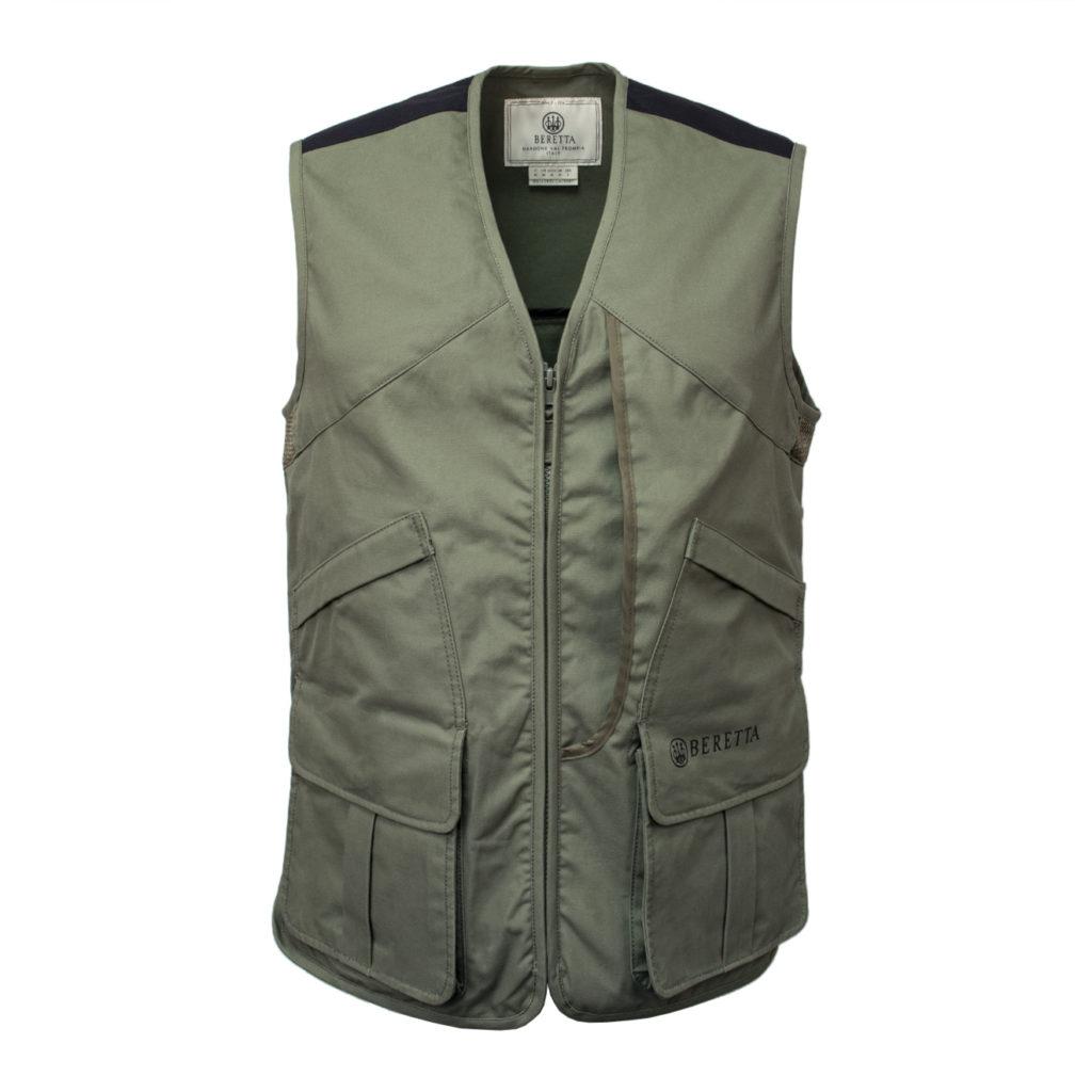 Beretta Windtrail Vest with Zip Sage