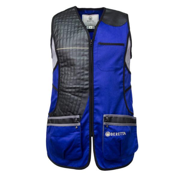 Beretta Womens Sporting Shooting Vest Royal Blue / Grey