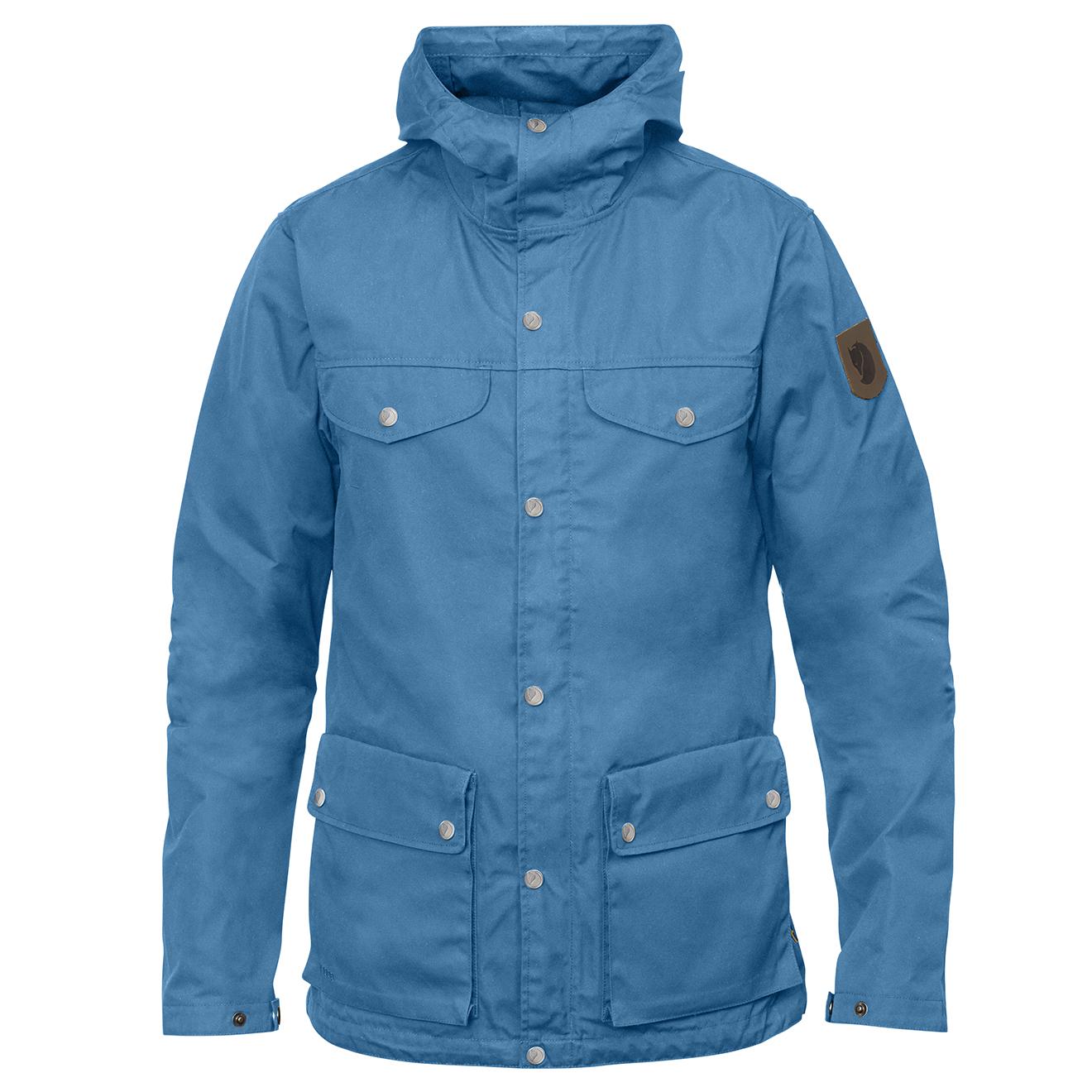 online store 1726e bc790 Fjallraven Greenland Jacket Azure Blue