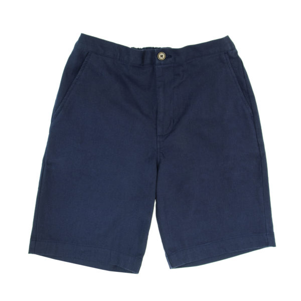 Far Afield Drawstring Shorts Cotton Twill Ensign Blue