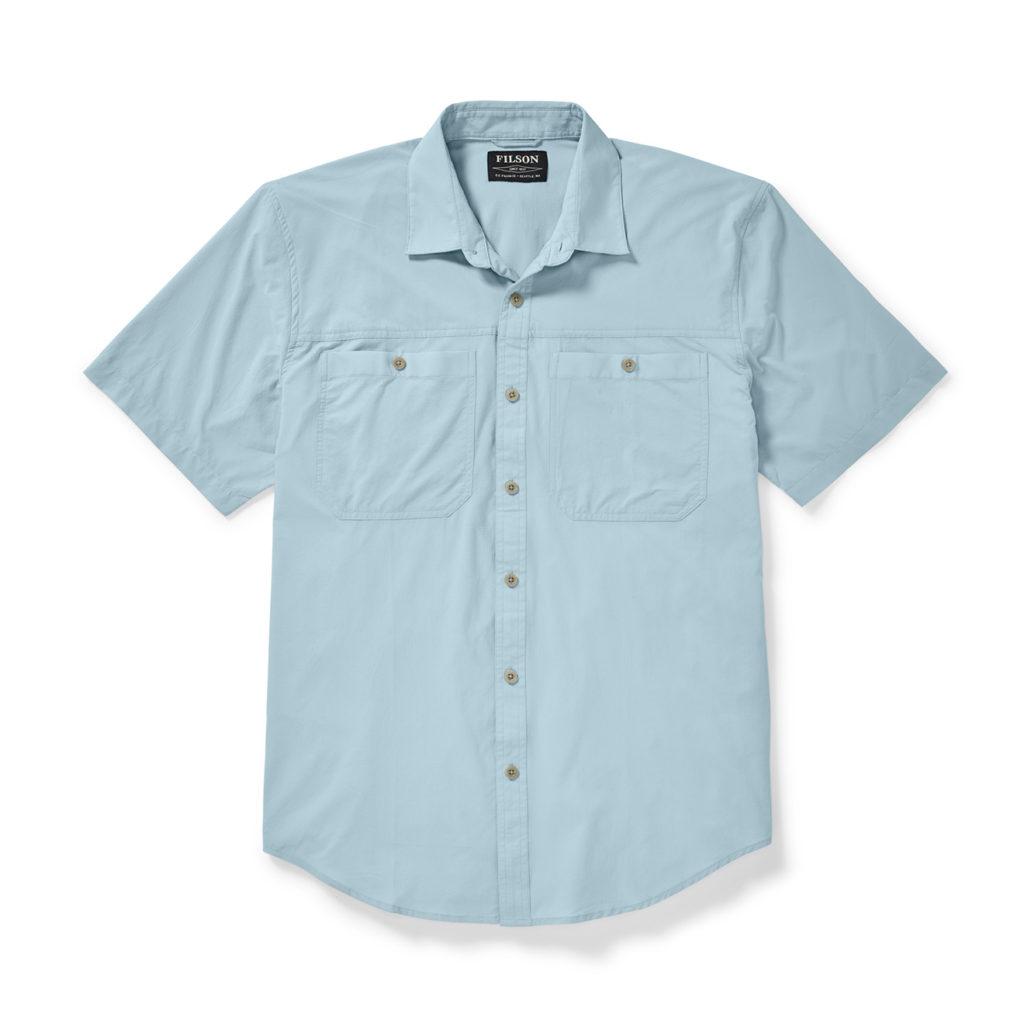 Filson Alagnak SS Shirt Gulf Blue