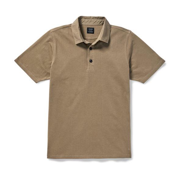 Filson Cedar River Polo Shirt Field Olive