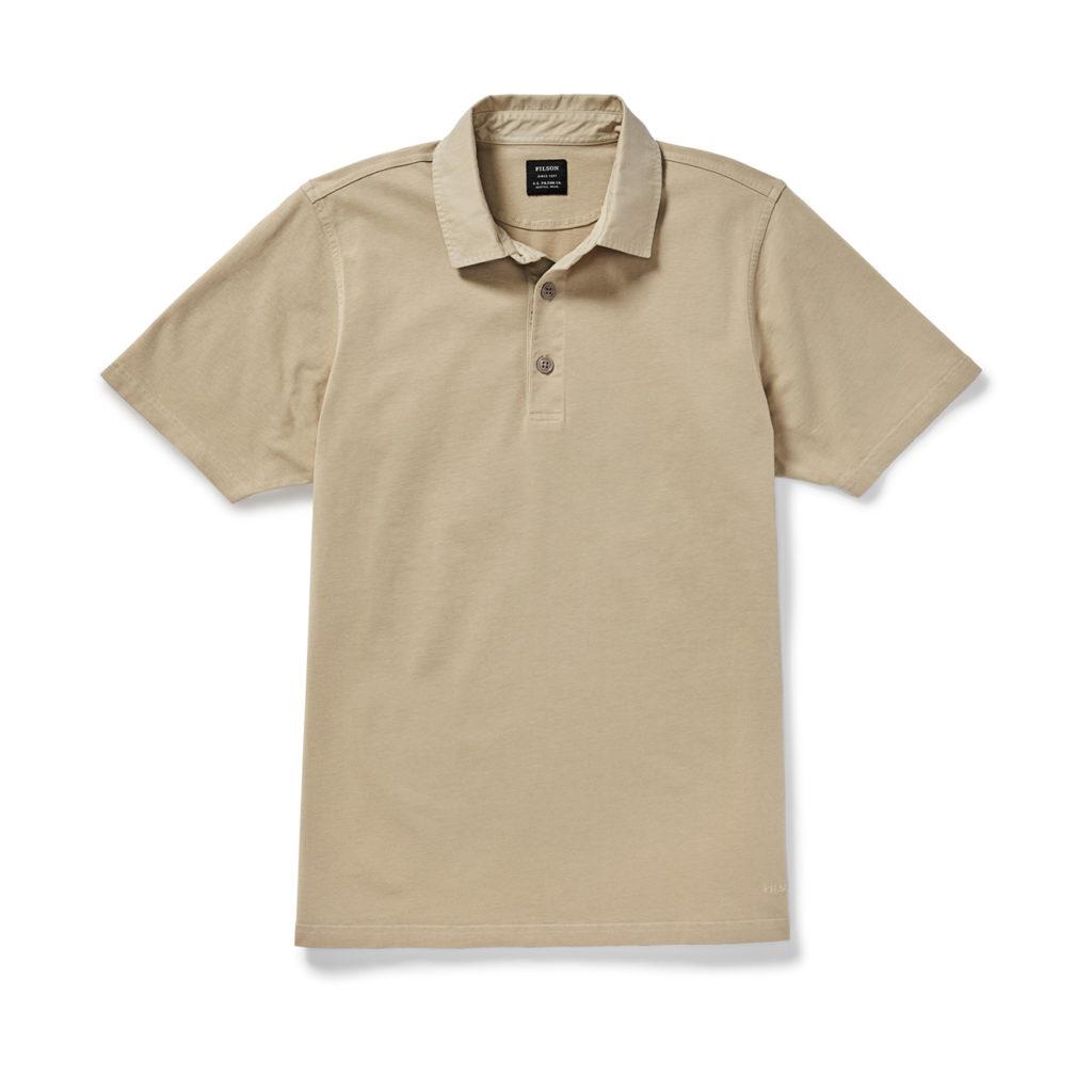 Filson Cedar River Polo Shirt Khaki