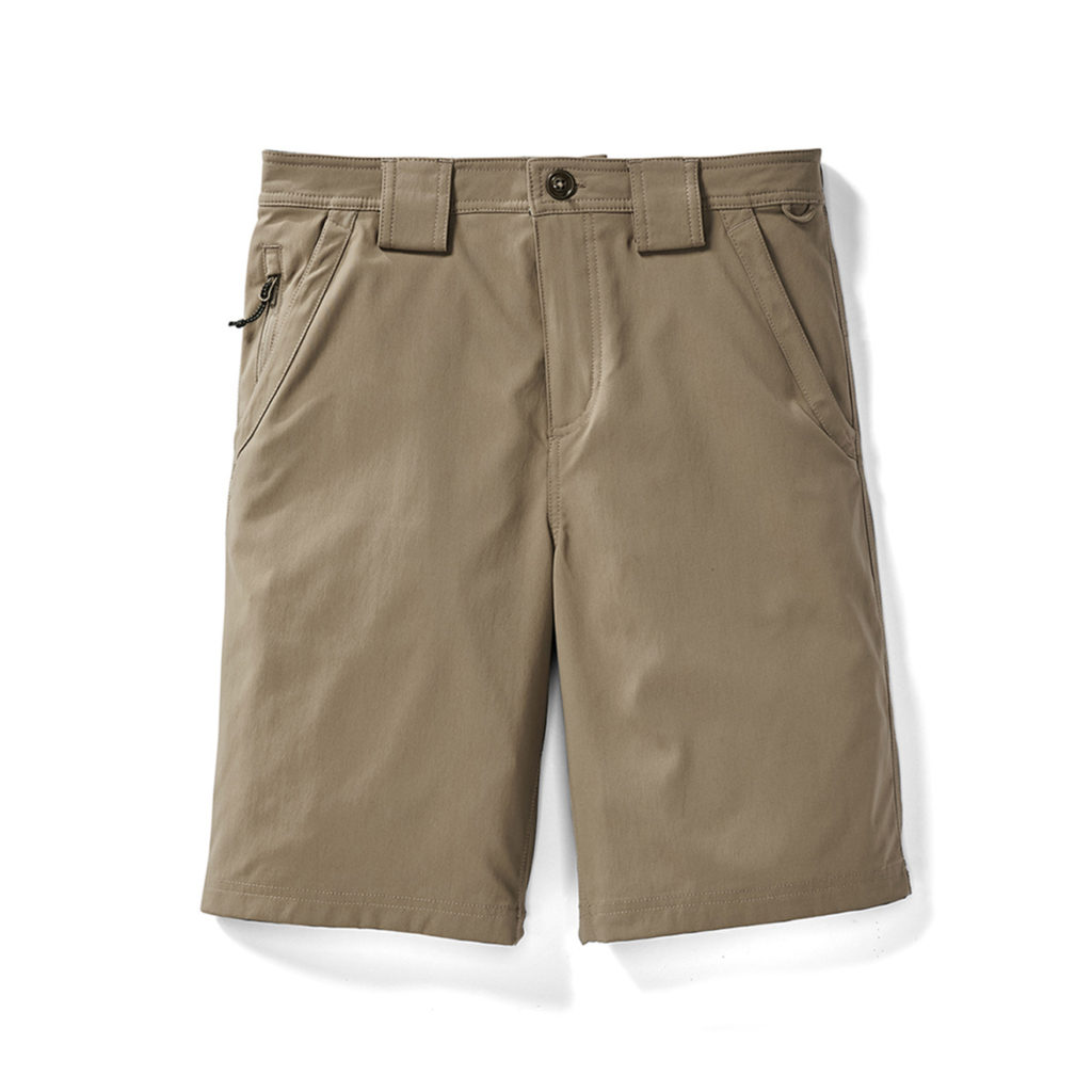 Filson Outdoorsman Shorts Grey Khaki