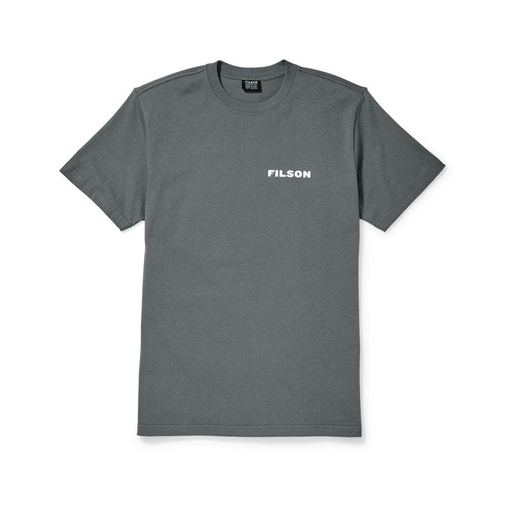 Filson Outfitter Graphic T-Shirt Blue Steel