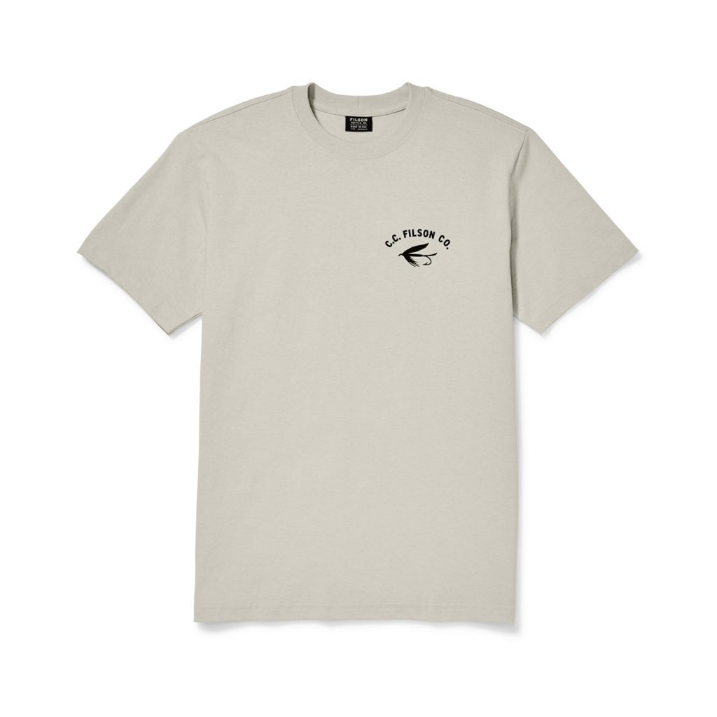 Filson Outfitter Graphic T-Shirt Light Stone