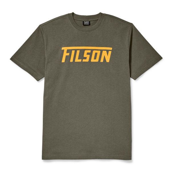 Filson Outfitter Graphic T-Shirt Otter Green 3