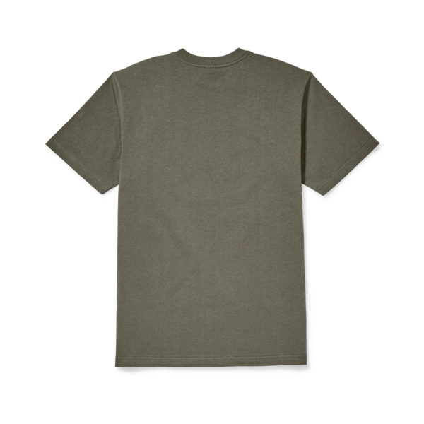 Filson Outfitter Graphic T-Shirt Otter Green 3