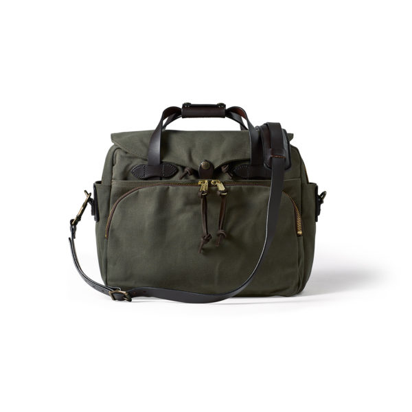 Filson Rugged Twill Padded Computer Bag Otter Green