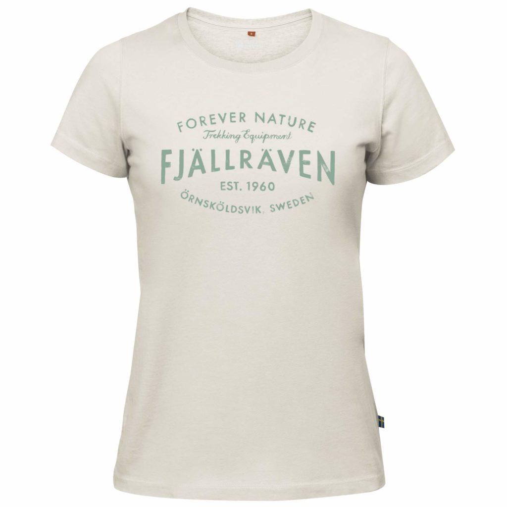Fjallraven Womens Est. 1960 T-Shirt Chalk White