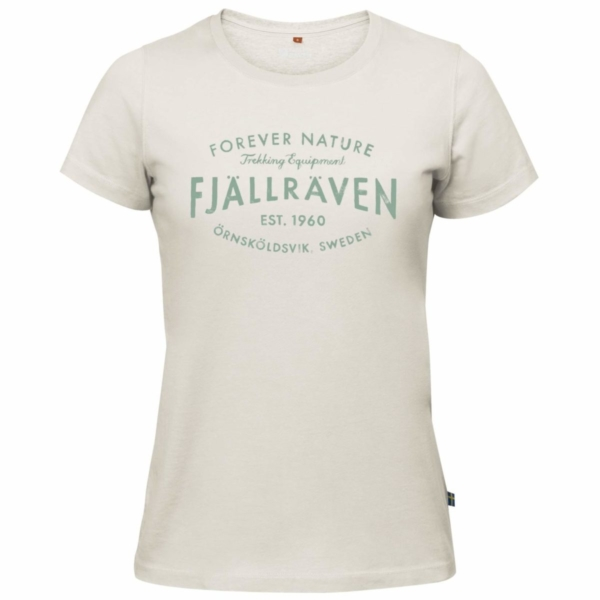 Fjallraven Womens Est. 1960 T-Shirt Chalk White