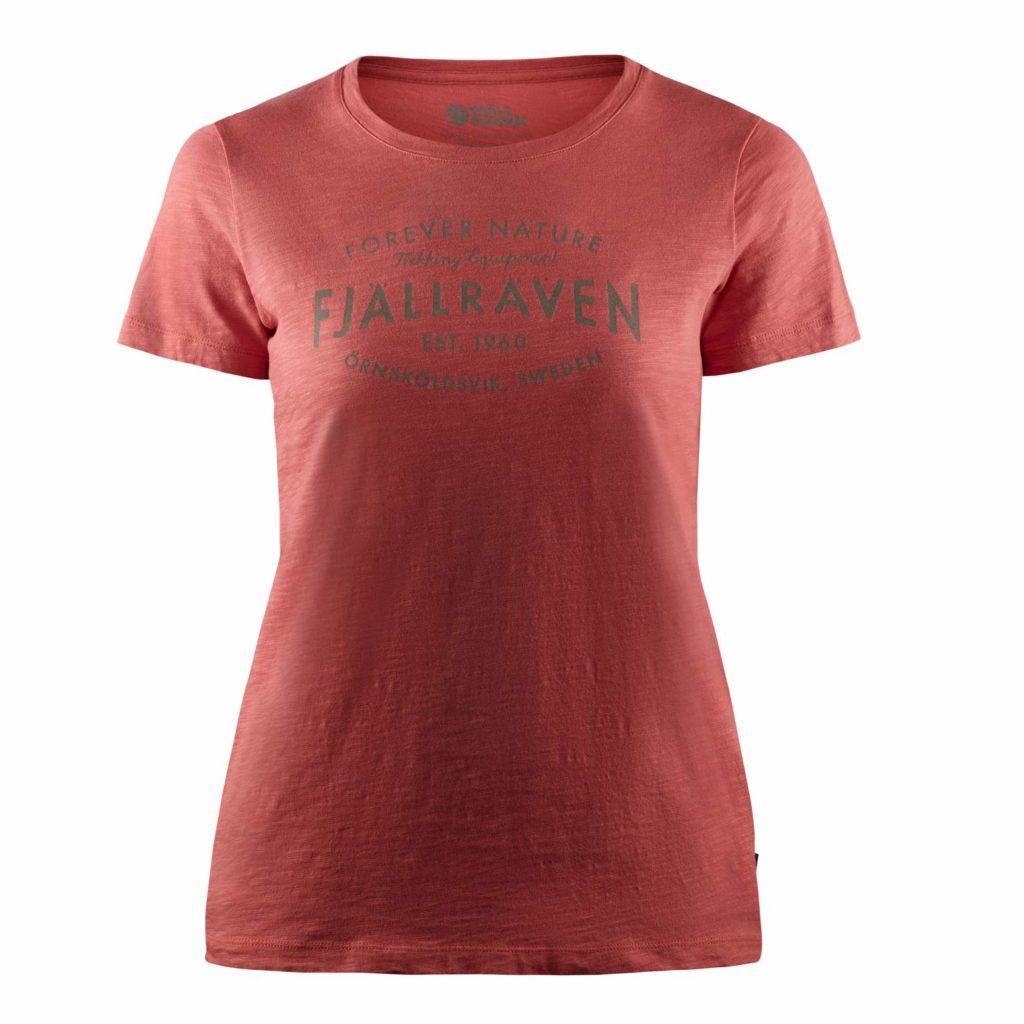 Fjallraven Womens Est. 1960 T-Shirt Dahlia