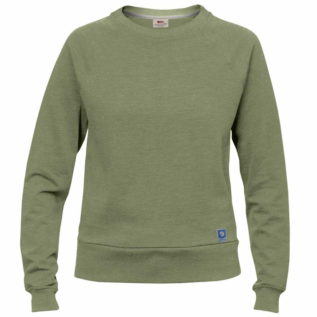 Fjallraven Womens Greenland Sweater Green