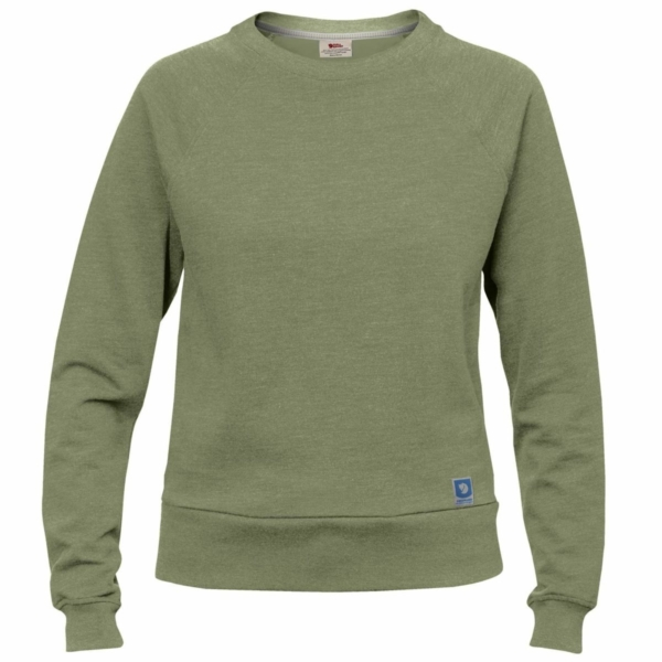 Fjallraven Womens Greenland Sweater Green