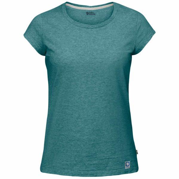 Fjallraven Womens Greenland T-Shirt Frost Green