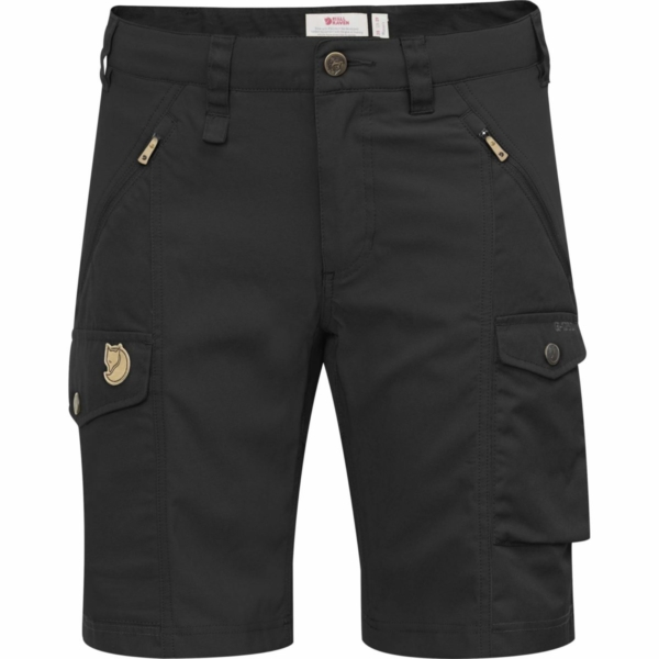 Fjallraven Womens Nikka Curved Shorts Black