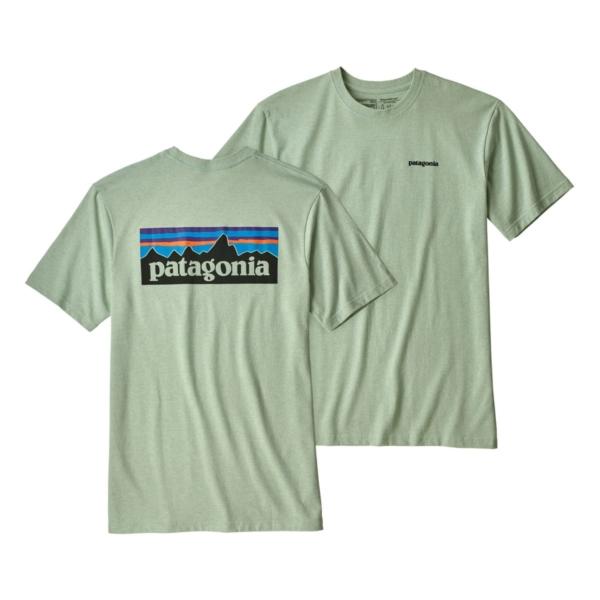 Patagonia P-6 Logo Responsibili-Tee Lite Distilled Green