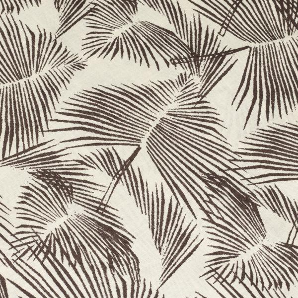 Pendleton Aloha Shirt Palm Leaf Print Tan