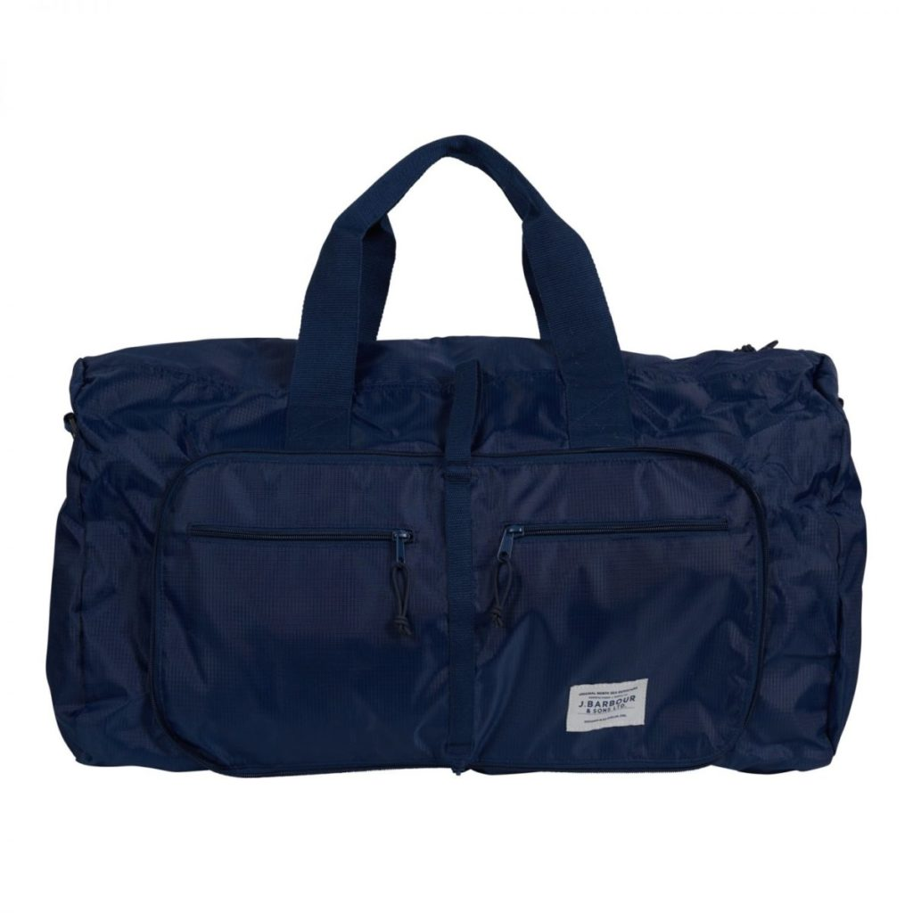Barbour Kilburne Packable Holdall Navy