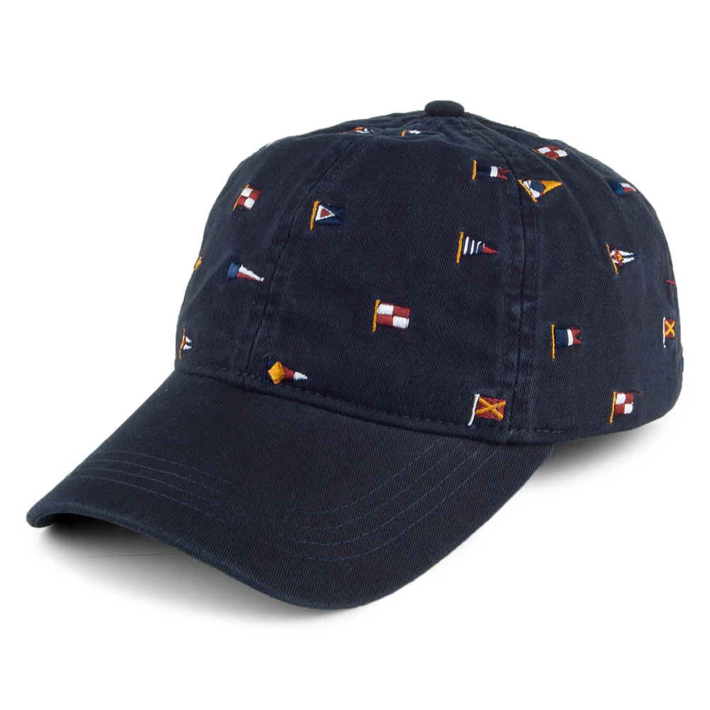Barbour Nautical Flag Cascade Cap Navy