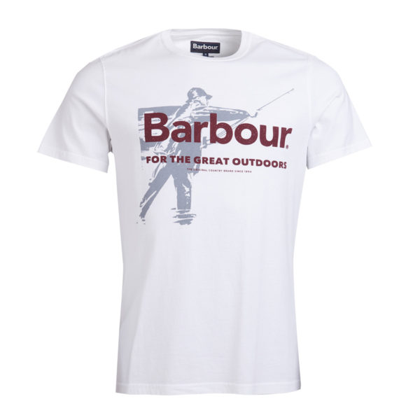 Barbour Outdoors T-Shirt White